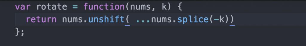 چرخش آرایه ها در جاوا اسکریپت