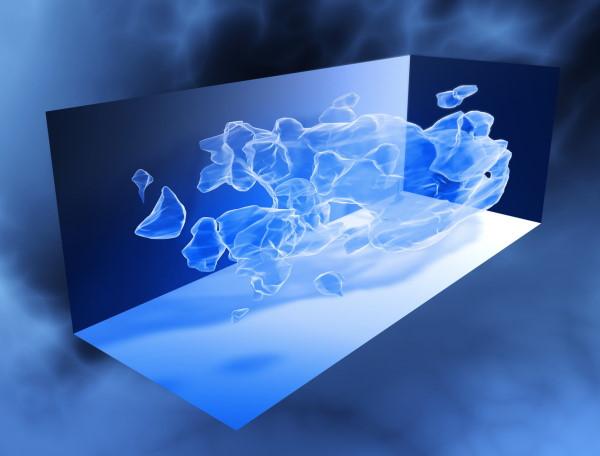 نقشه سهبعدی از توزیع بزرگمقیاس ماده تاریک