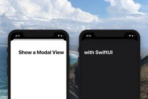 ساخت یک نمای Modal با SwiftUI — از صفر تا صد