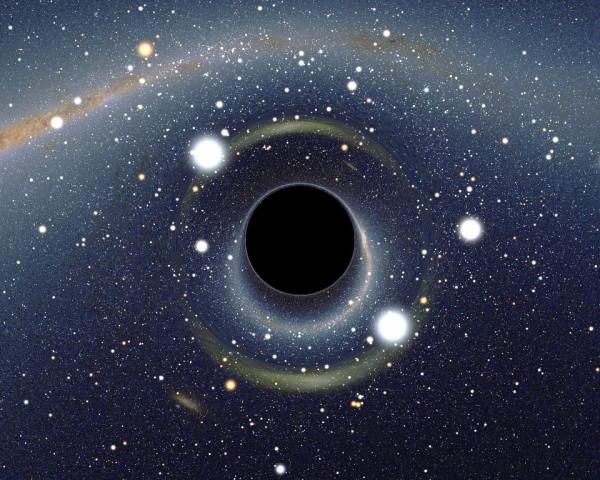 سیاه چاله و ماده تاریک