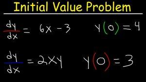 مسئله مقدار اولیه در معادلات دیفرانسیل — به زبان ساده (+ دانلود فیلم آموزش رایگان)
