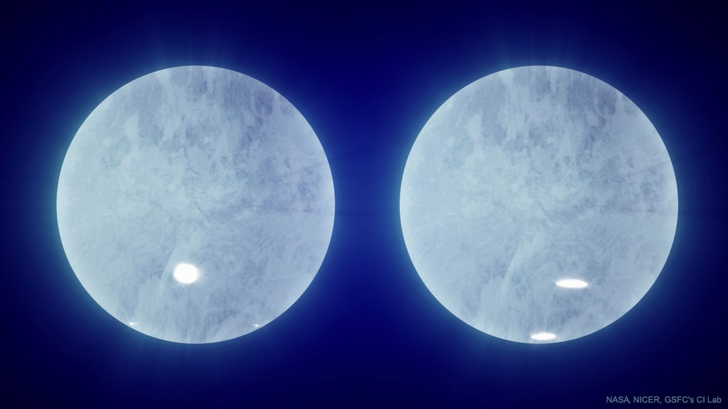 ستاره نوترونی J0030 -- تصویر نجومی روز