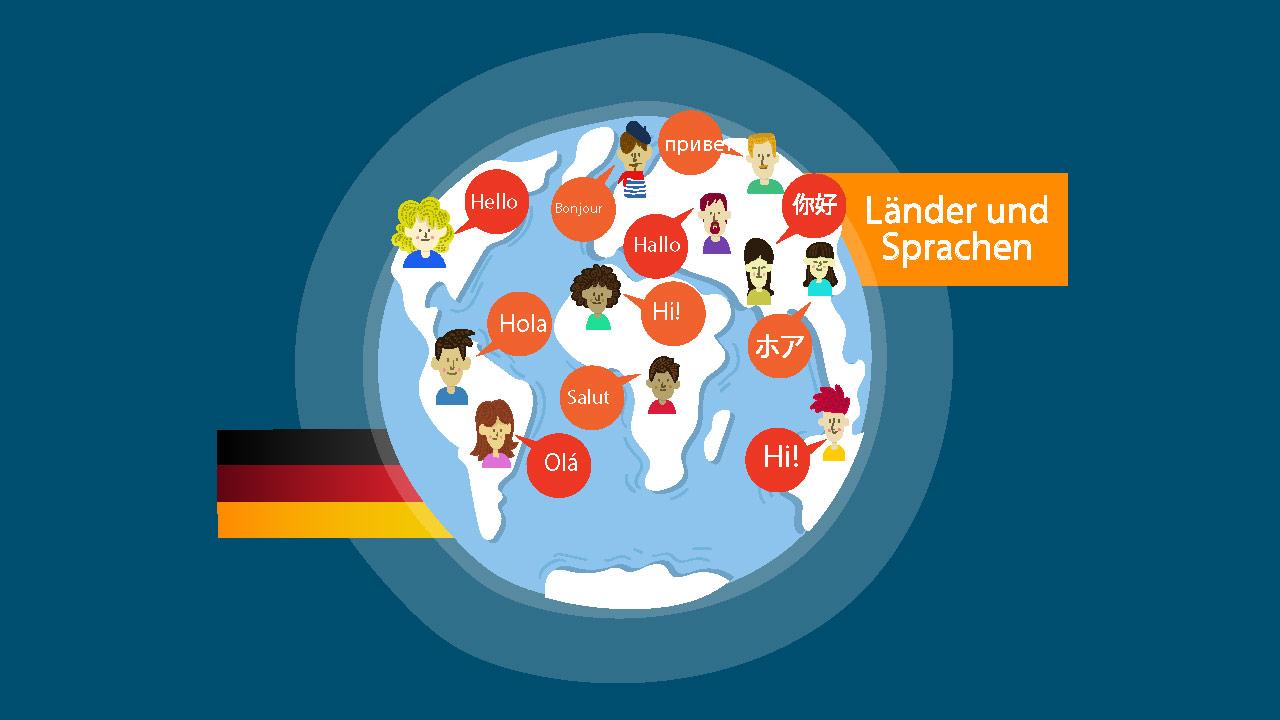 ملیت ها و زبان های مختلف در آلمانی — آموزک [ویدیوی آموزشی]