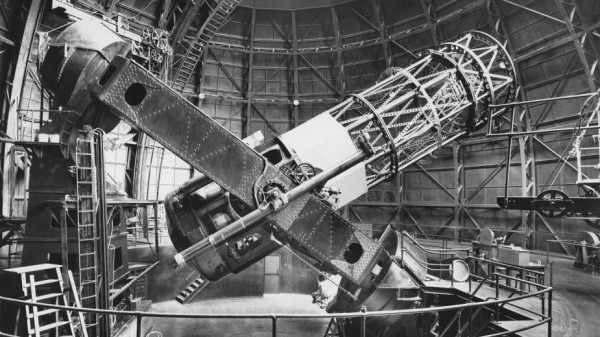 تلسکوپ بازتابی 100 اینچی رصدخانه مونت ویلسون