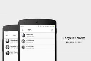فیلتر جستجو روی Recycler View در اندروید — راهنمای کاربردی