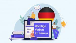 صرف افعال زبان آلمانی در زمان حال  — آموزک [ویدیوی آموزشی]