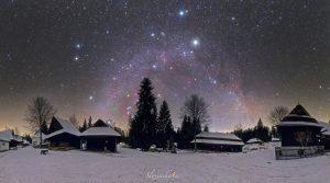 ستارگان زمستانی — تصویر نجومی روز
