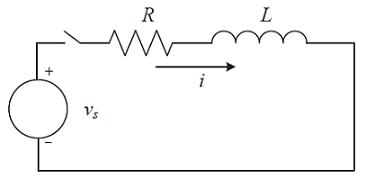 شکل ۱: یک مدار RL