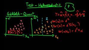 آزمون گلدفلد و کوانت (Goldfeld-Quandt Test) — به زبان ساده