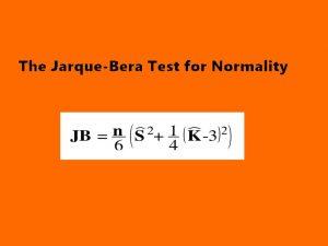 آزمون نرمال بودن جارک برا (Jarque-Bera Test) — به زبان ساده