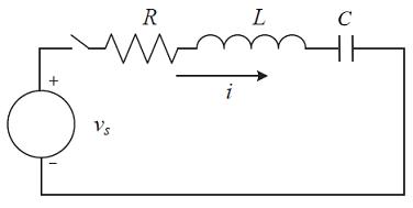 شکل ۱: یک مدار RLC