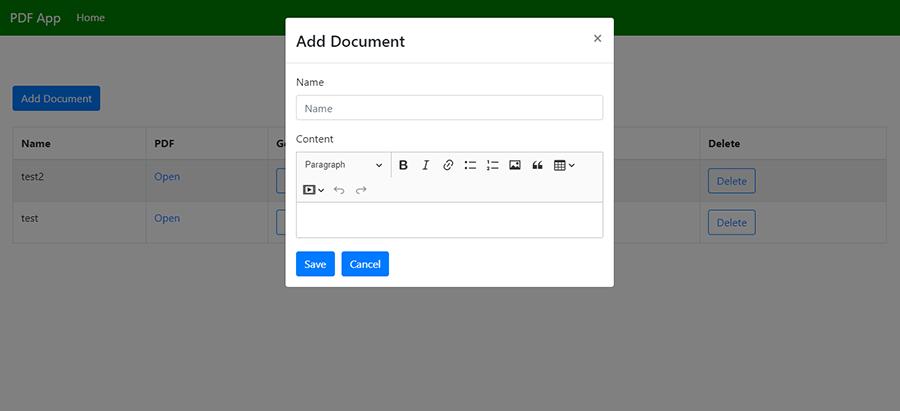 ایجاد PDF با Node.js