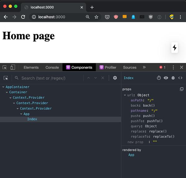 شیوه توسعه و دیباگ اپلیکیشن در Next.js