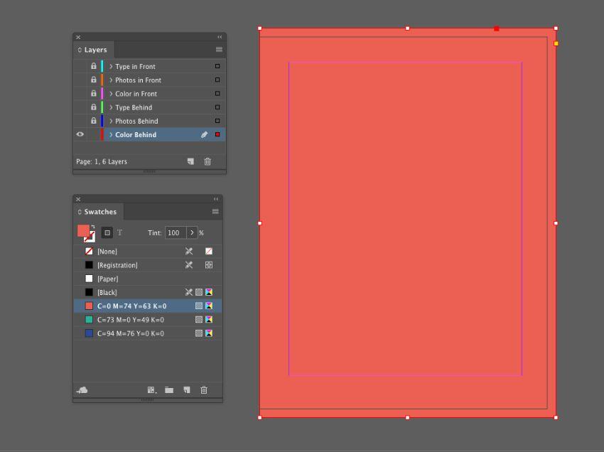 طراحی قالب بروشور محصول با InDesign