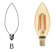 لامپ سری B