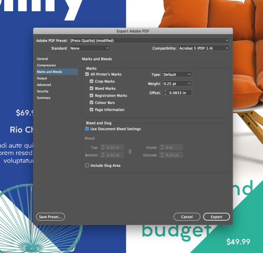قالب بروشور محصول با InDesign