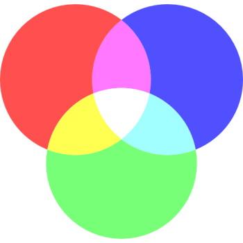 رنگهای اصلی و ترکیب آنها