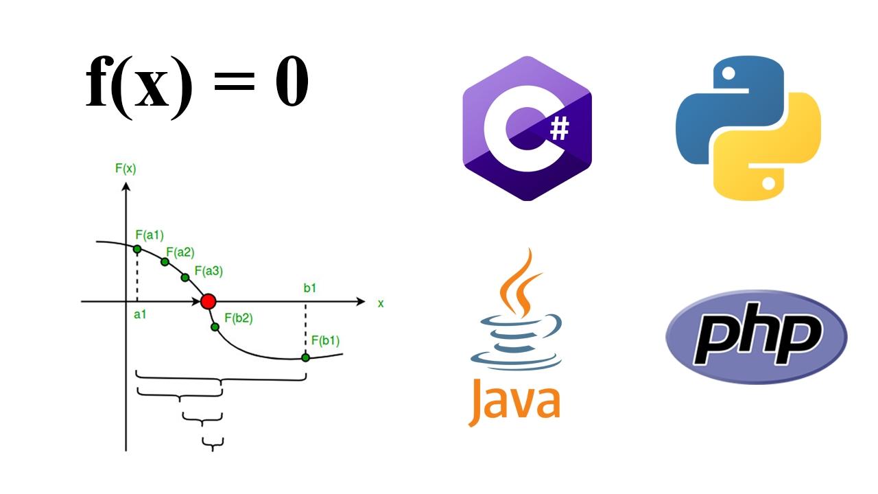 برنامه پیدا کردن ریشه های تابع با روش دو بخشی — راهنمای کاربردی