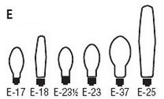 لامپ سری E