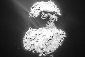 تبخیر دنباله دار چوریوموف گراسیمنکو — تصویر نجومی روز