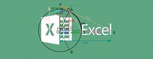 توابع مثلثاتی در اکسل — از صفر تا صد