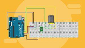 کنترل جهت گردش موتور DC — راهنمای کاربردی