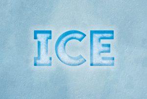 طراحی جلوه متن یخی در InDesign — راهنمای گام به گام