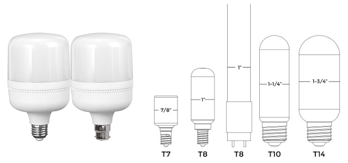 لامپ سری T