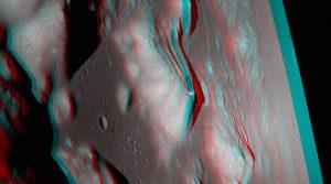 نمای برجسته از مدار ماه — تصویر نجومی روز