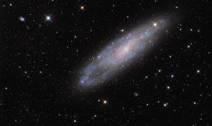 کهکشان چشم سوزن — تصویر نجومی روز