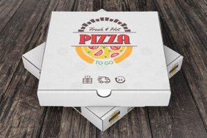 طراحی لوگوی جعبه پیتزا با ایلاستریتور — راهنمای گام به گام