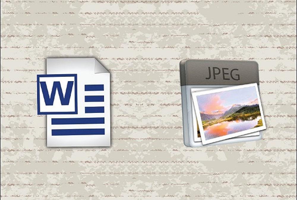 ذخیره فایل ورد به صورت JPEG — راهنمای کاربردی