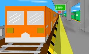 برنامه محاسبه حداقل سکوهای لازم برای ایستگاه قطار — راهنمای کاربردی