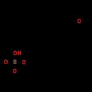 ساختمان شیمیایی هورمون Sulfate-DHEA