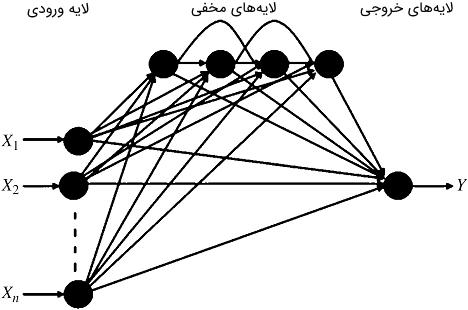 شکل ۲: نمودار شماتیکی CFNN