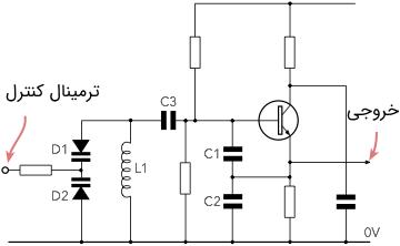 مدار اسیلاتور کنترل شده با ولتاژ
