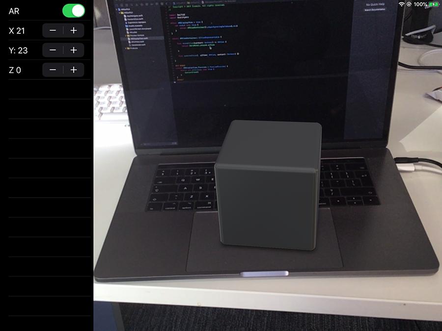 اپلیکیشن AR با RealityKit و SwiftUI