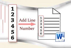 نمایش شماره خط در ورد — به زبان ساده