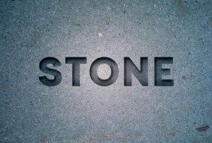 طراحی جلوه متنی حکاکی سنگی با InDesign — راهنمای گام به گام