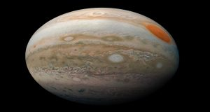 میدان مغناطیسی سیاره مشتری — تصویر نجومی روز