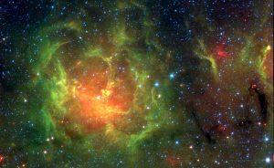 سحابی سه تکه — تصویر نجومی روز
