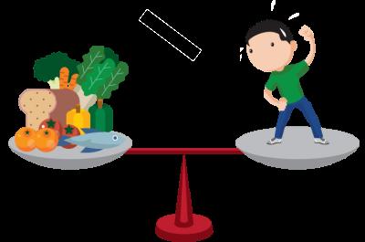 ترکیب رژیم غذایی با ورزش