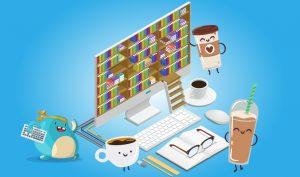 آموزش تایپ ده انگشتی و تبدیل تایپ به قهوه