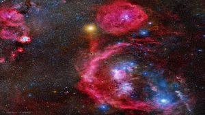صورت فلکی شکارچی — تصویر نجومی روز