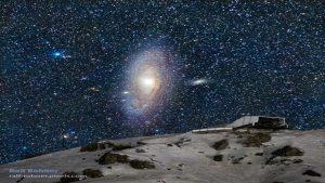 تصویری زیبا از کهکشان آندرومدا — تصویر نجومی روز