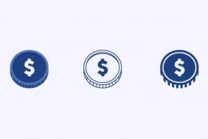 طراحی آیکون پول با ایلاستریتور — راهنمای گام به گام