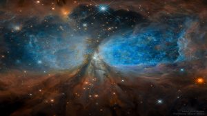 منطقه ستاره زایی S106 — تصویر نجومی روز