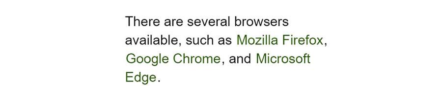 استایل لینک در CSS