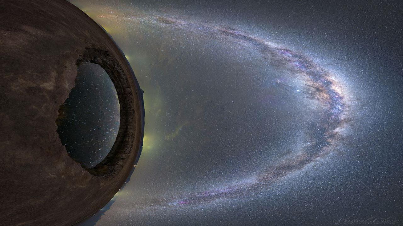 چشم اندازی از کهکشان راه شیری — تصویر نجومی روز