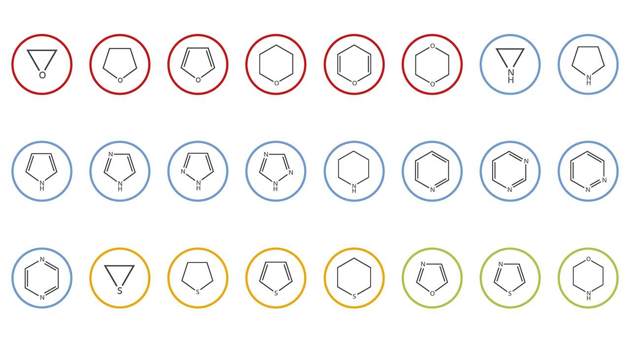 ترکیبات هتروسیکل در شیمی – به زبان ساده